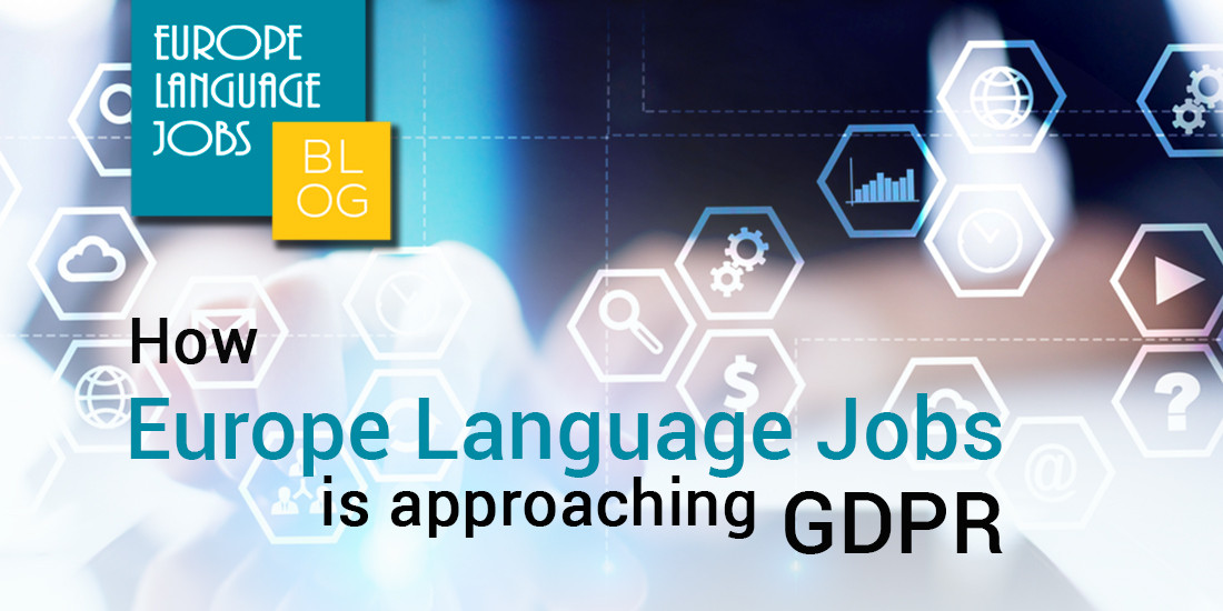 How Europe Language Jobs is approaching GDPR
